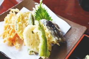 春野菜の天ぷら盛合せ